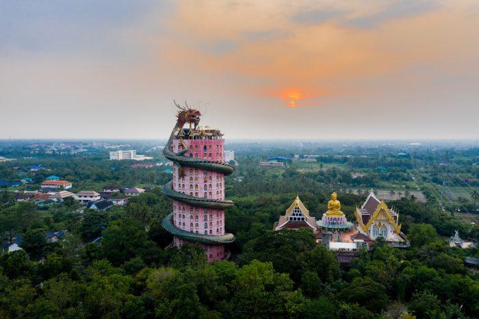 Templo del Dragón Wat Samphran
