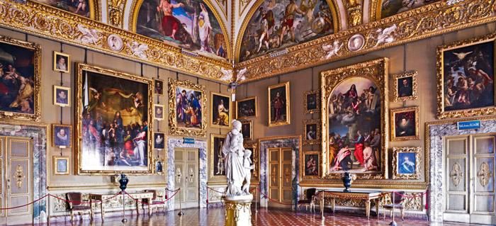 El Palazzo Pitti   Visita a los museos   Florencia   Toscana
