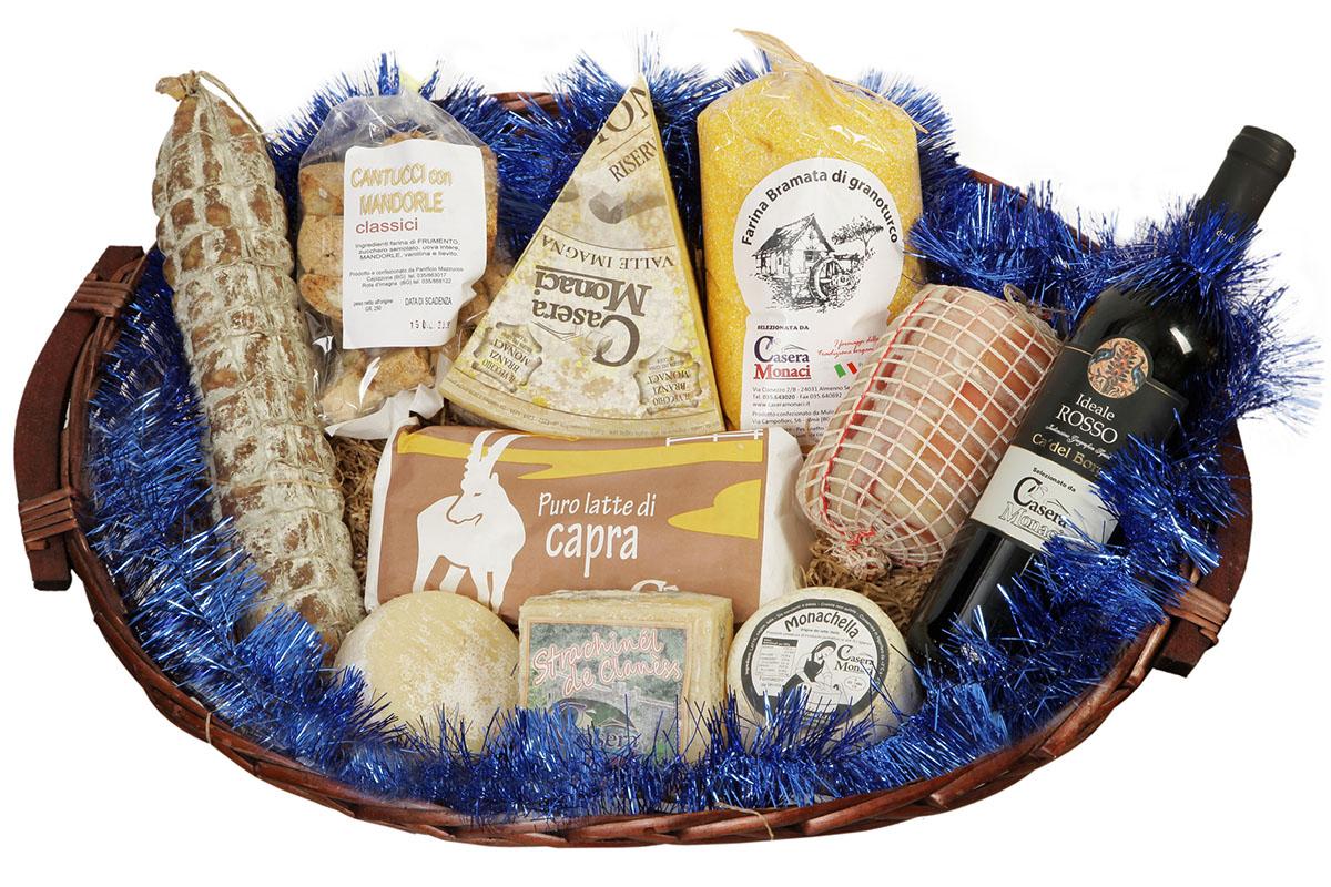 Cesti, pacchi e confezioni regalo con prodotti tipici del territorio. I Cesti Delle Bonta Idee Regalo Per Natale E Non Solo
