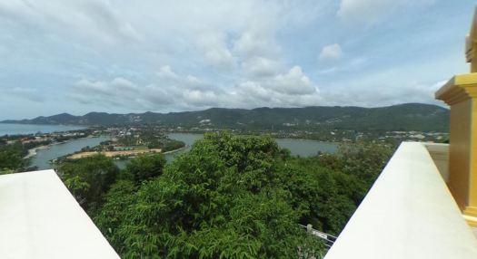 Шикарный вид на окресности и озеро Чавенг