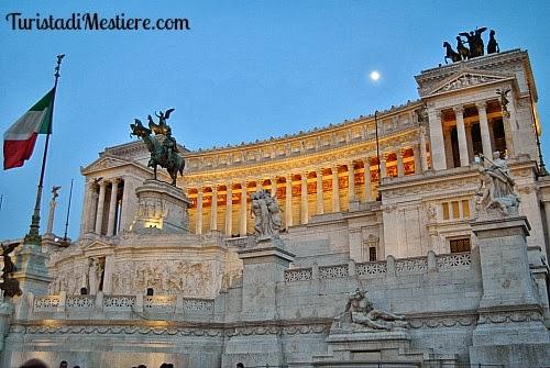 Roma ascensori panoramici sulla Terrazza delle Quadrighe