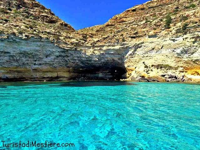 Lampedusa il paradiso  qui
