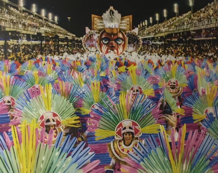 Desfile da Mangueira na Marquês de Sapucaí