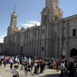 %name Visitando a cidade branca de Arequipa