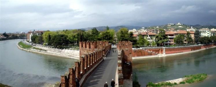 Turistandoin Italia Verona 4 As mais lindas pontes da Europa que atravessei