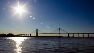 Ponte Vitoria em Rosario argentina