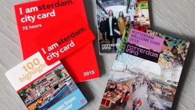 Rotterdam Card e IAmsterdam card