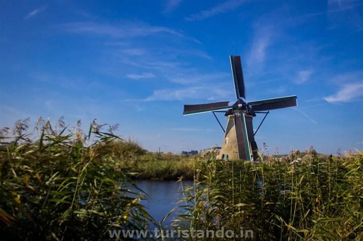 %name Conhecendo os famosos moinhos de Kinderdijk na Holanda