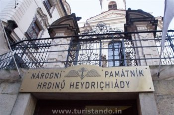 national memorial to the heroes of the heydrich terror prague 24472315413 o 350x233 O Memorial nacional dos heróis do terror de Heydrich