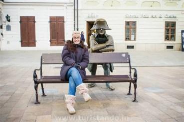 %name As estátuas engraçadinhas de Bratislava na Eslováquia