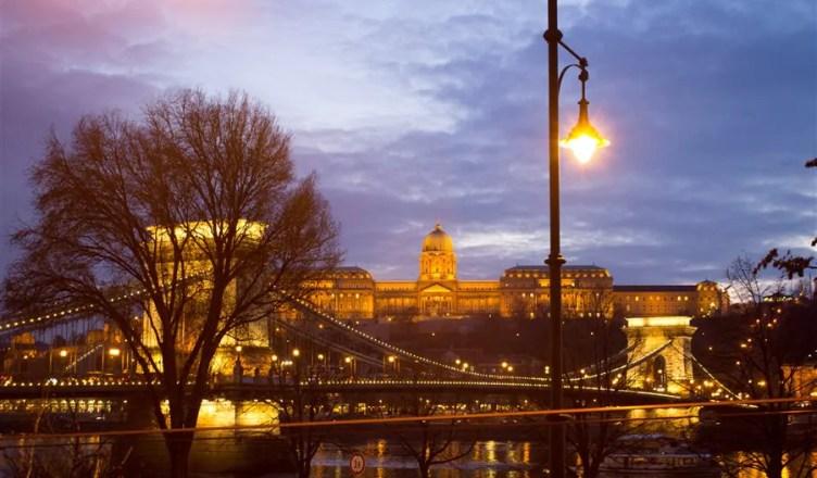 em Budapeste