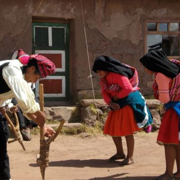 %name Excursão para a Ilha Taquile no lago Titicaca