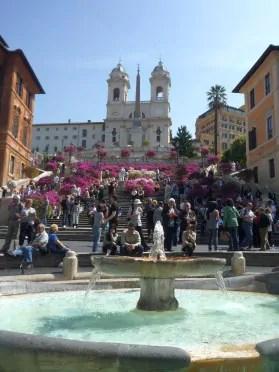 Piazza di Spagna Roma   scalinata 35 atrações para você visitar na parte central de Roma (Roma Barroca)