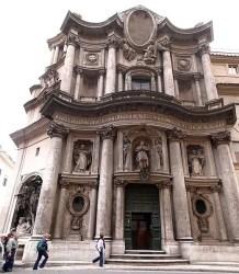 SCarloQuattroFontaneRome 262x300 35 atrações para você visitar na parte central de Roma (Roma Barroca)