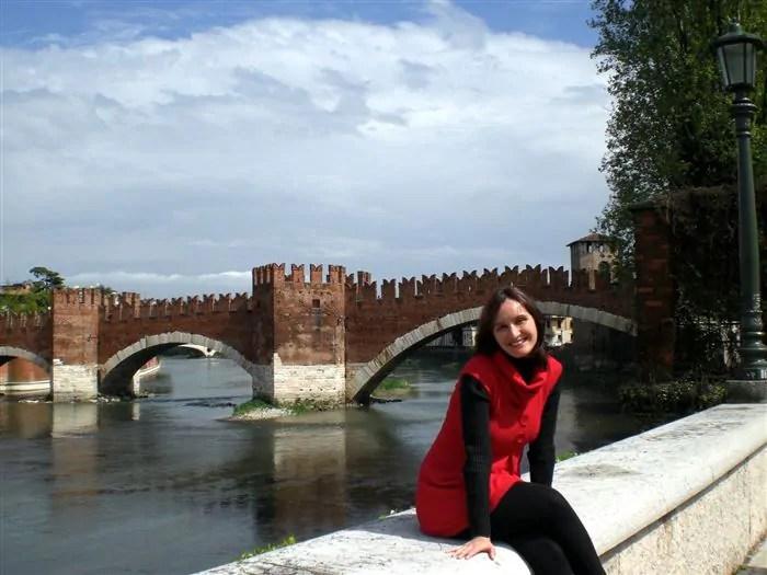 Verona 11abr08 Ponte Scaligero 4 Lua de Mel na Europa: 8on8 nas cidades clichês