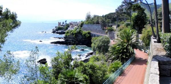 Genova Nervi 14giu08 600x295 Road Trip pelo litoral italiano: De Gênova à Cinque Terre