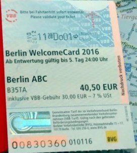 berlin welcomecard 3 269x300 O Berlim Welcome Card vale a pena?