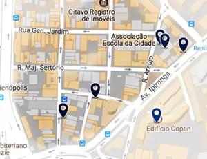 onde ficar em sao paulo araujo Quais os melhores lugares e ruas para se hospedar no centro de São Paulo
