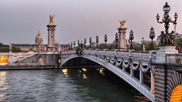seine river 985613 640 As mais lindas pontes da Europa que atravessei