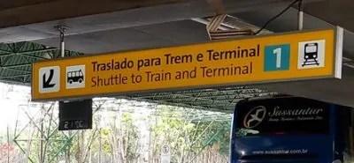 como pegar o trem do Aeroporto de Guarulhos 4 e1533931088645 400x185 Como pegar o trem para o Aeroporto de Guarulhos (opção até o Brás)