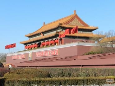 Tiananmen Square & Entrada para a Cidade Proibida