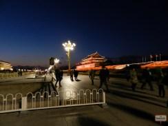 Tiananmen Square a noite