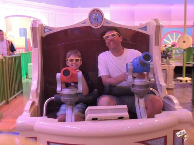 A atração Toy Sory é ótima para os meninos!!