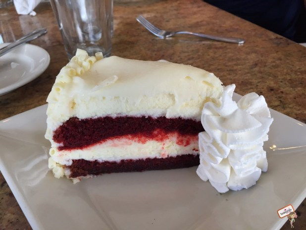 The Ultimate Red Velvet Cheesecake Factory