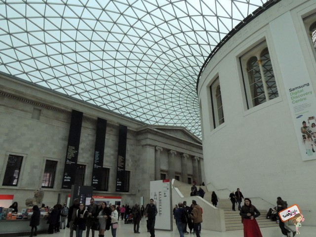 Famoso hall do British Museum