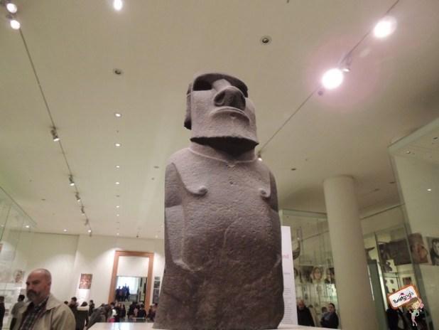 Moai Chileno, único fora da ilha de Páscoa