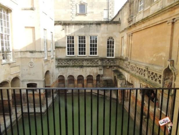 Por dentro das Roman Baths