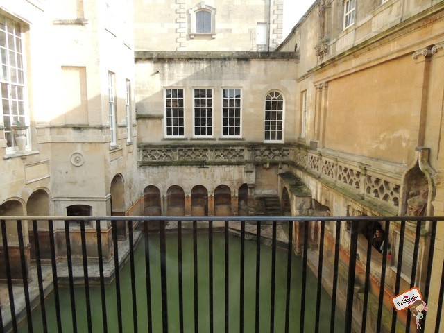 Por dentro das Roman Baths