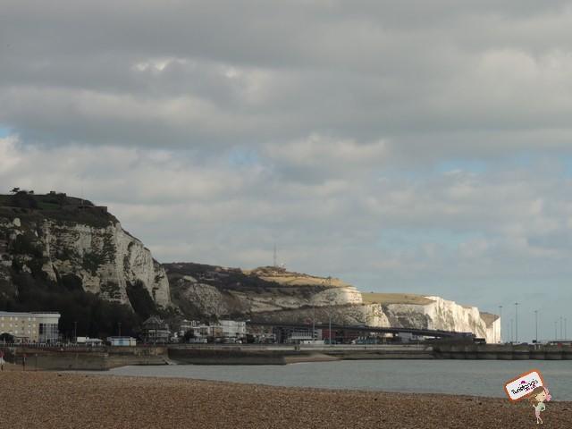 As falésias brancas de Dover