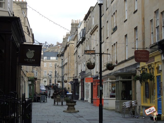 Pelas ruazinhas de Bath
