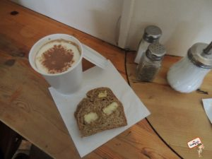 Irish Coffee e Soda Bread com mateiga
