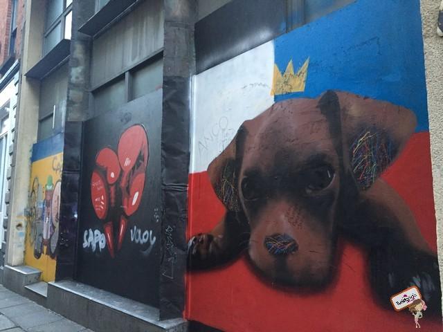 Esse foi o muro mais lindo de todos, street art em Dublin