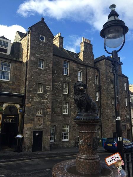 Estátua do cachorrinho Greyfriars