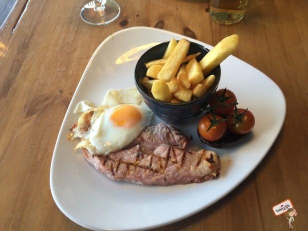 Gamon Steak, prato típico escocês