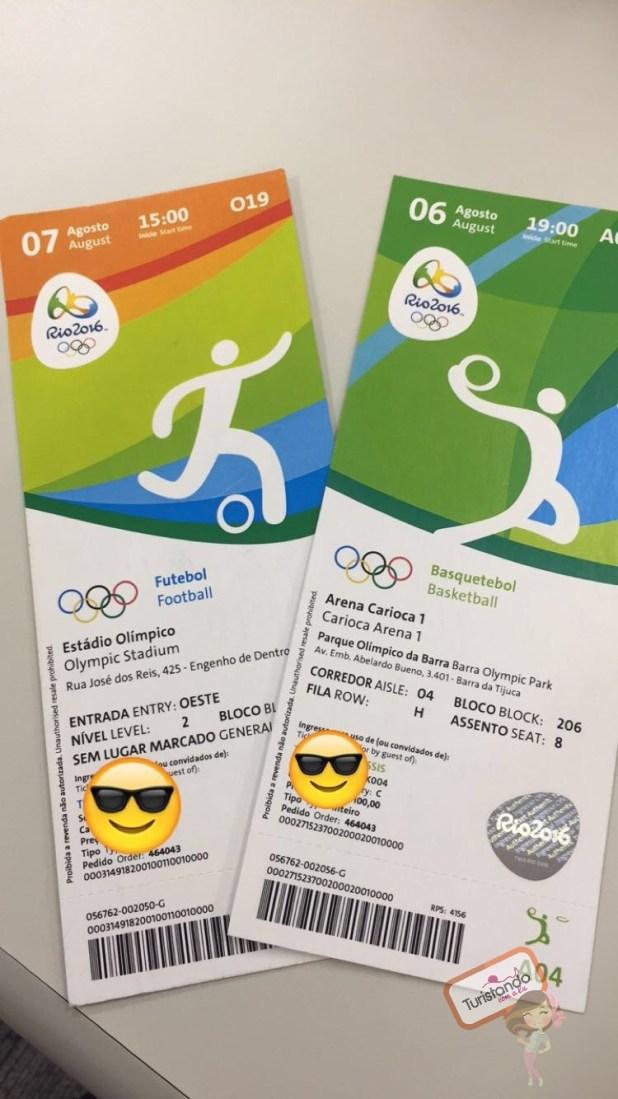 Ingressos Olimpíadas Rio 2016