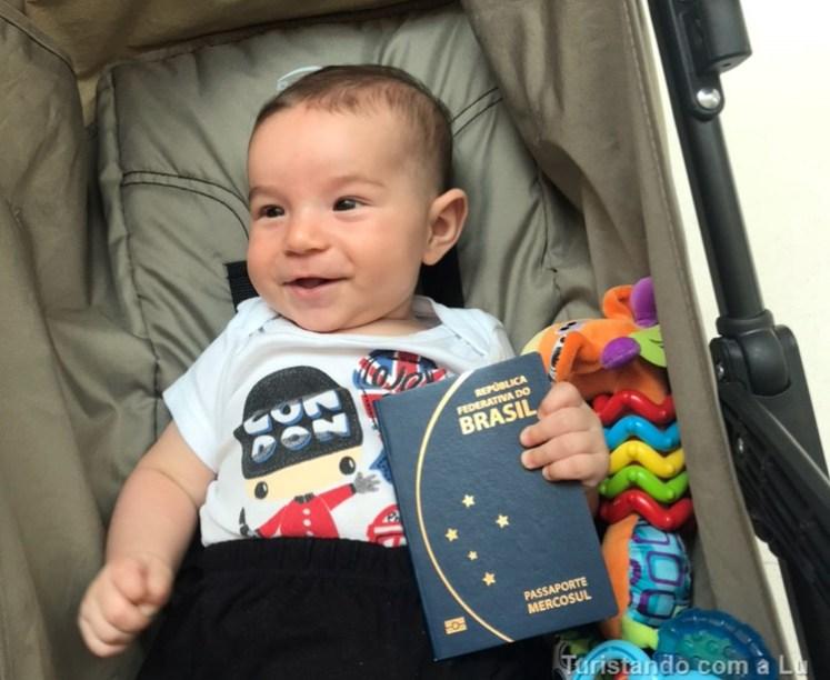 Passaporte de bebê e criança - passo a passo completo