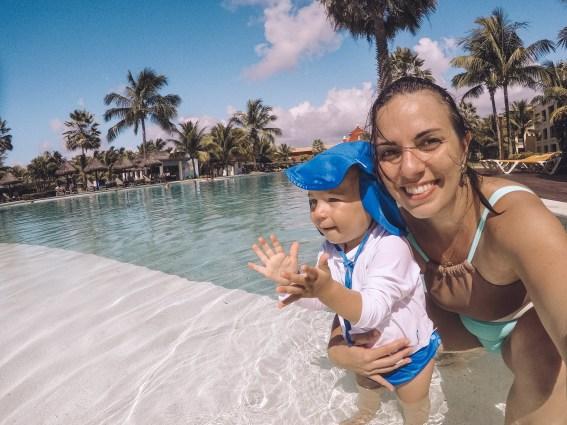 lugares para viajar com bebês