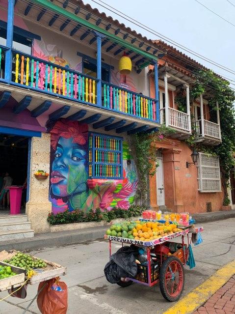 O quer fazer em Cartagena das Índias - visitar o bairro de Getsmaní