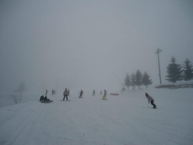como esquiar no japão