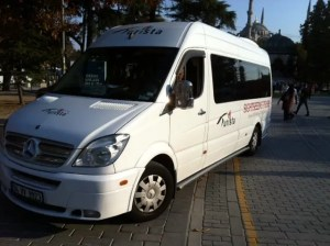 Tour Bus (What can you do in Istanbul)
