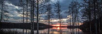 Finlandia paesaggio del lago