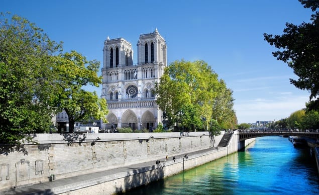 La Catedral de Notre Dame.