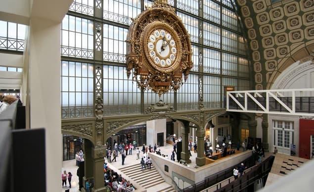 Hall principal del Museo Orsay.