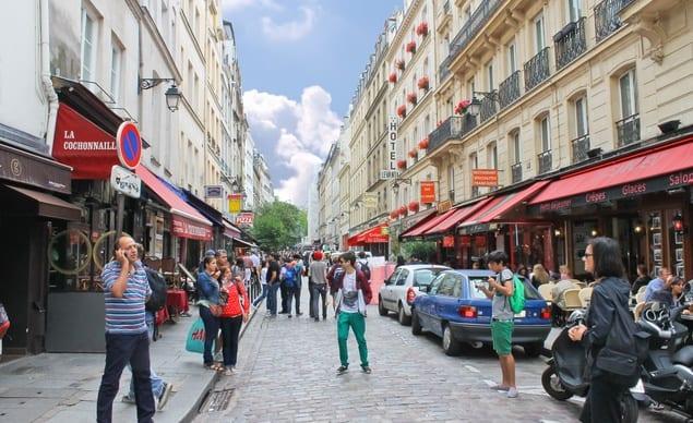 Las calles de París.