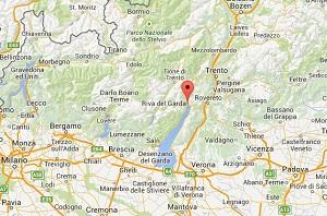 Lago De Garda Mapa.Lago Di Garda Mapa Stufa A Pellet