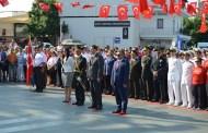 30 Ağustos Zafer Bayramı Bodrum'da Tören İle Kutlandı